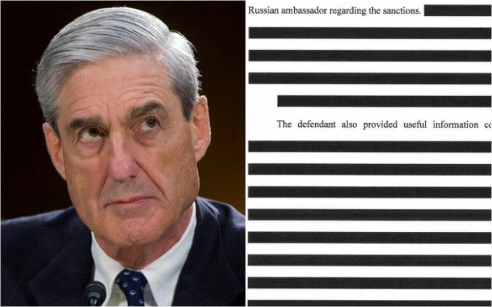 Twitter Users Hilariously Fill In The Blanks In Heavily Redacted Mueller