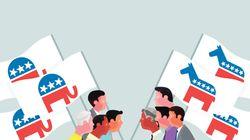 더 왼쪽으로? 오른쪽으로? 미국 민주당 지지자들의 엇갈린