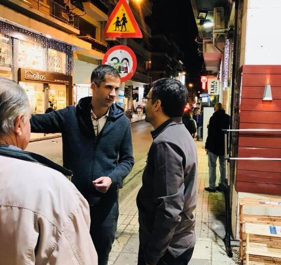 Μπακογιάννης: Xωρίς φως, χωρίς υπόγειες διαβάσεις και με σπασμένα πεζοδρόμια στου