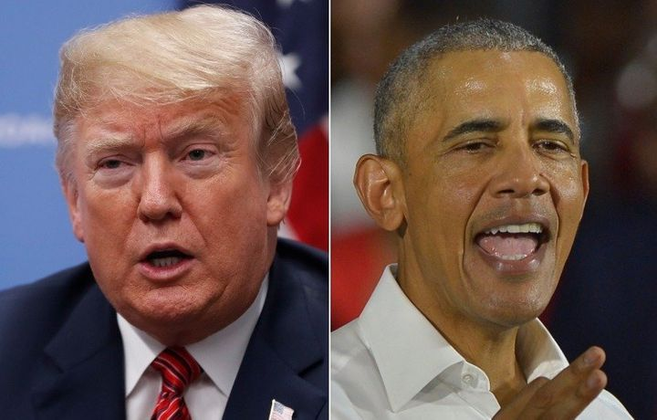 """President Donald Trump is the """"most tweeted about political figure"""" of the year while former President Barack Obama has tweet"""