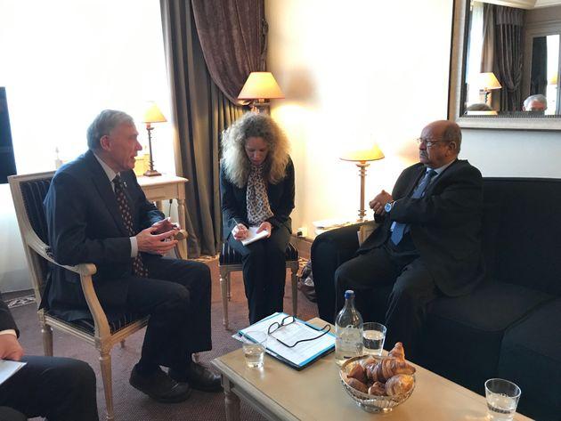 Sahara occidental: Messahel s'entretient avec Horst