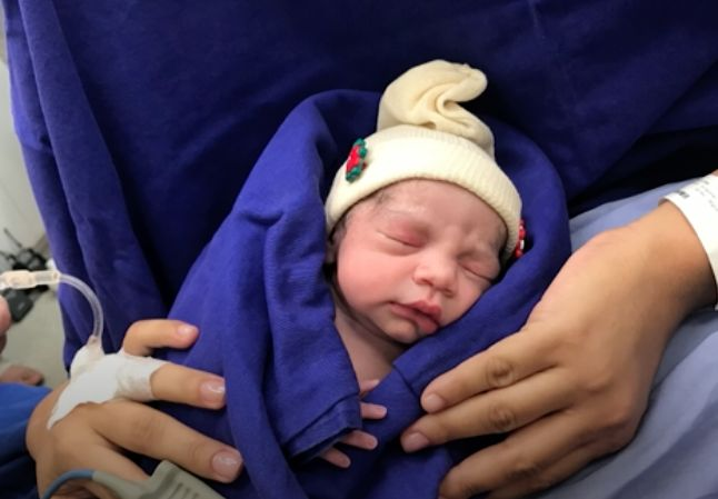 First baby born to mom using uterus from a deceased donor