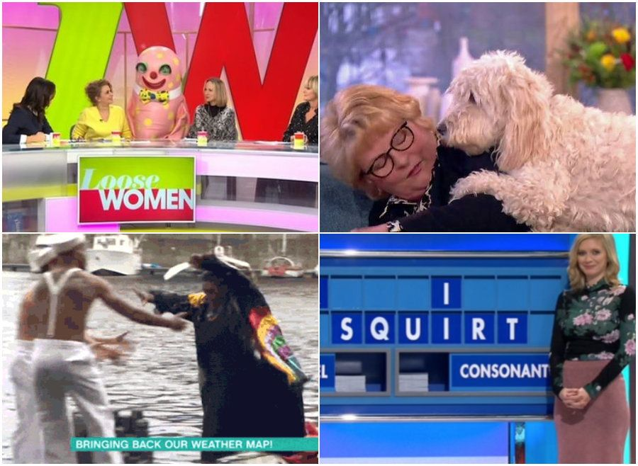 30 Ridiculous Daytime TV Moments You Missed While At Work In