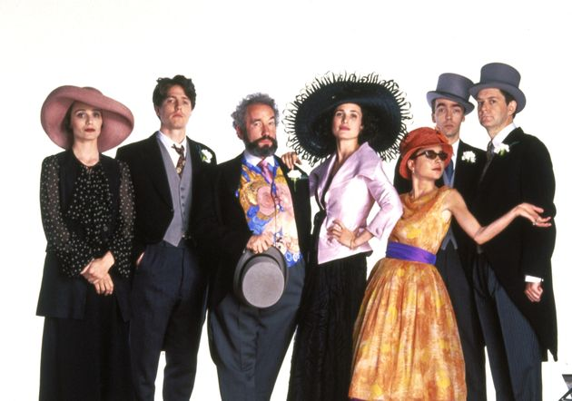 The cast of 'Four Weddings And A
