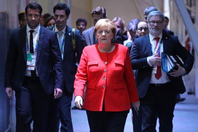 Angela Merkel beim G20-Gipfel.