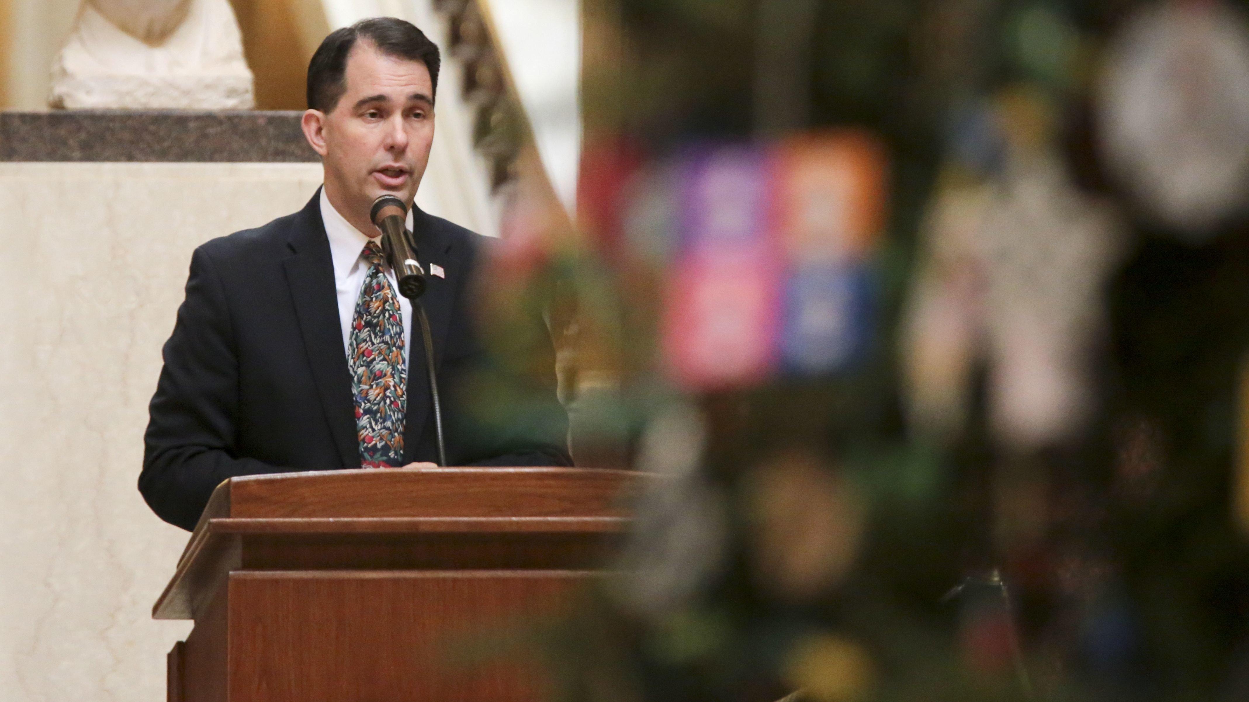 Wisconsin Gov. Scott Walker (AP)