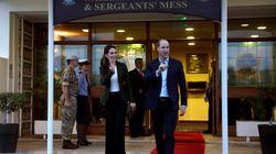 Ο πρίγκηπας Ουίλιαμ και η Κέιτ Μίντλετον έφτασαν στην