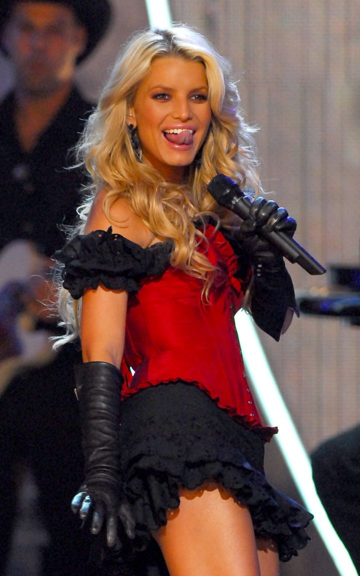 "Simpson performs in Los Angeles in 2006. ""I have always embraced being a role model to all women to let them know that"