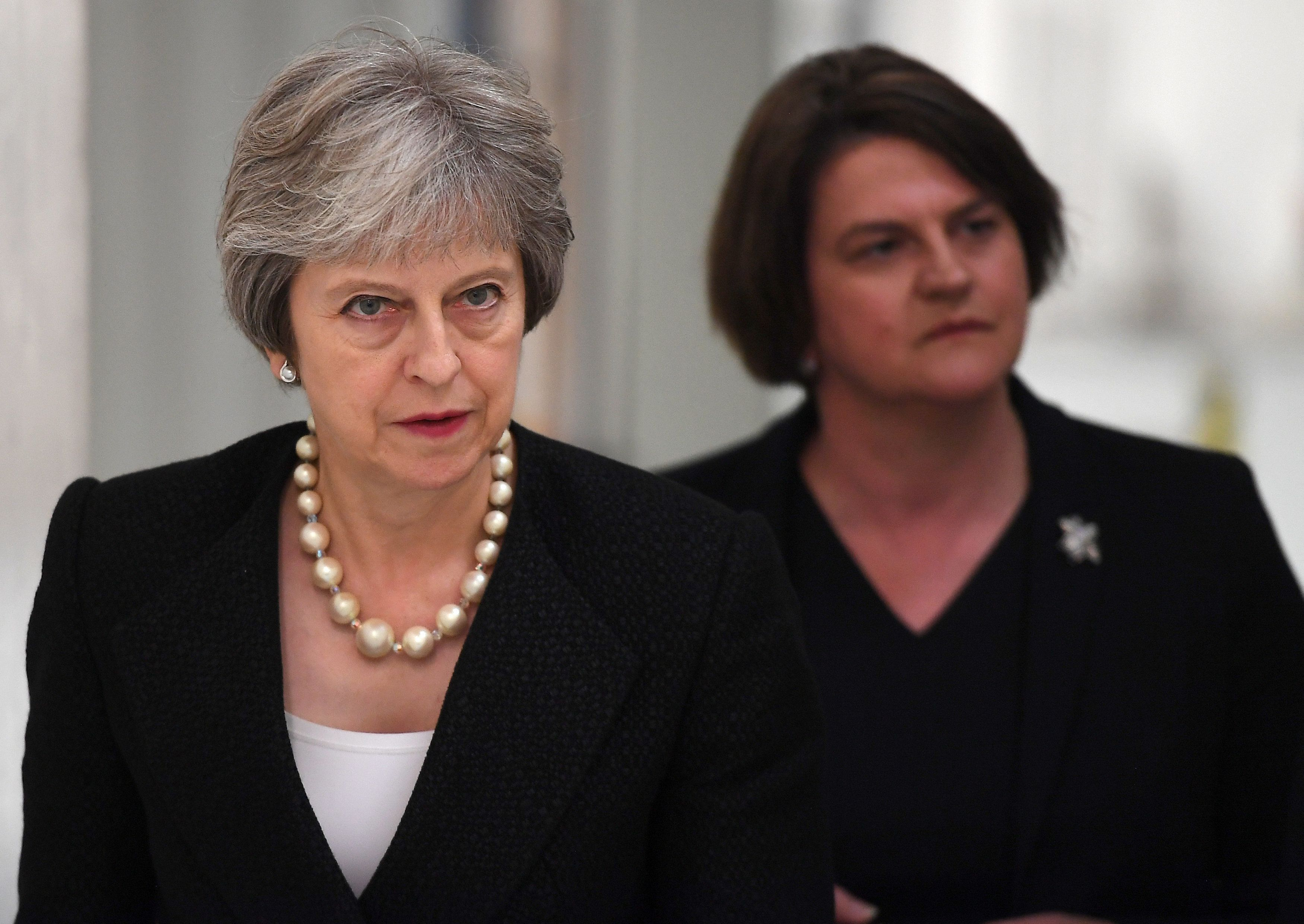 DUP Will Only Back Theresa May If Her Brexit Deal Fails - Boosting Tory