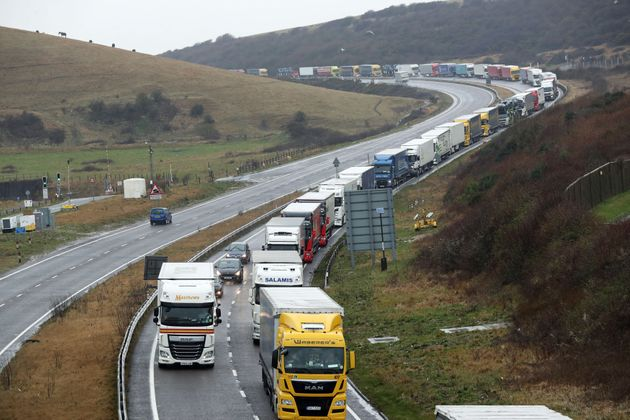 Opponents of 'no deal' fear lengthy lorry delays at ports like