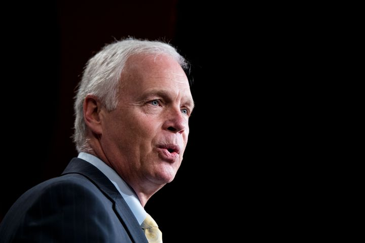 Sen. Ron Johnson (R-Wis.).