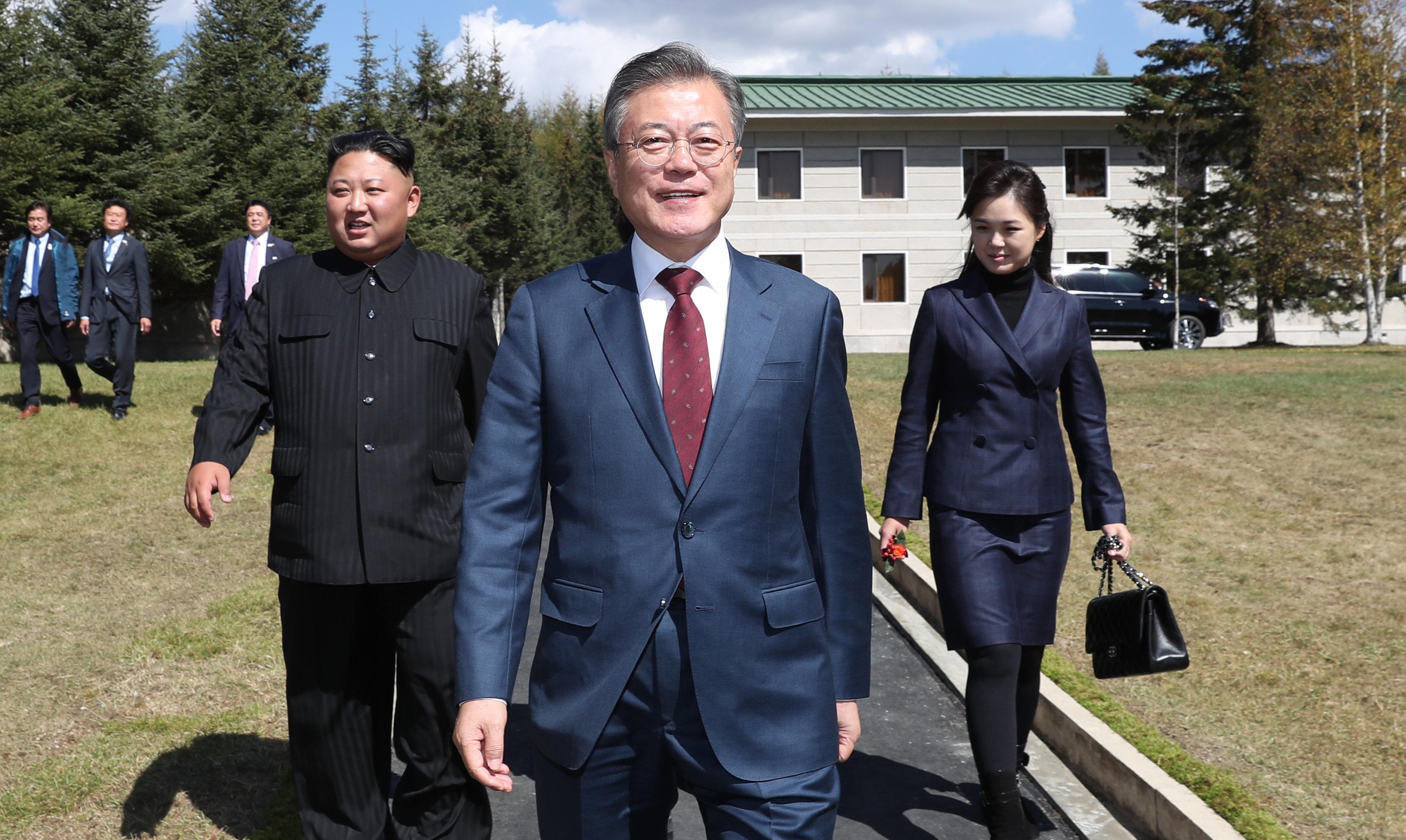 국민 10명 중 6명은 '김정은 서울 답방'을