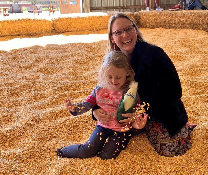 Anastasia Bodnar and her daughter, Rose.