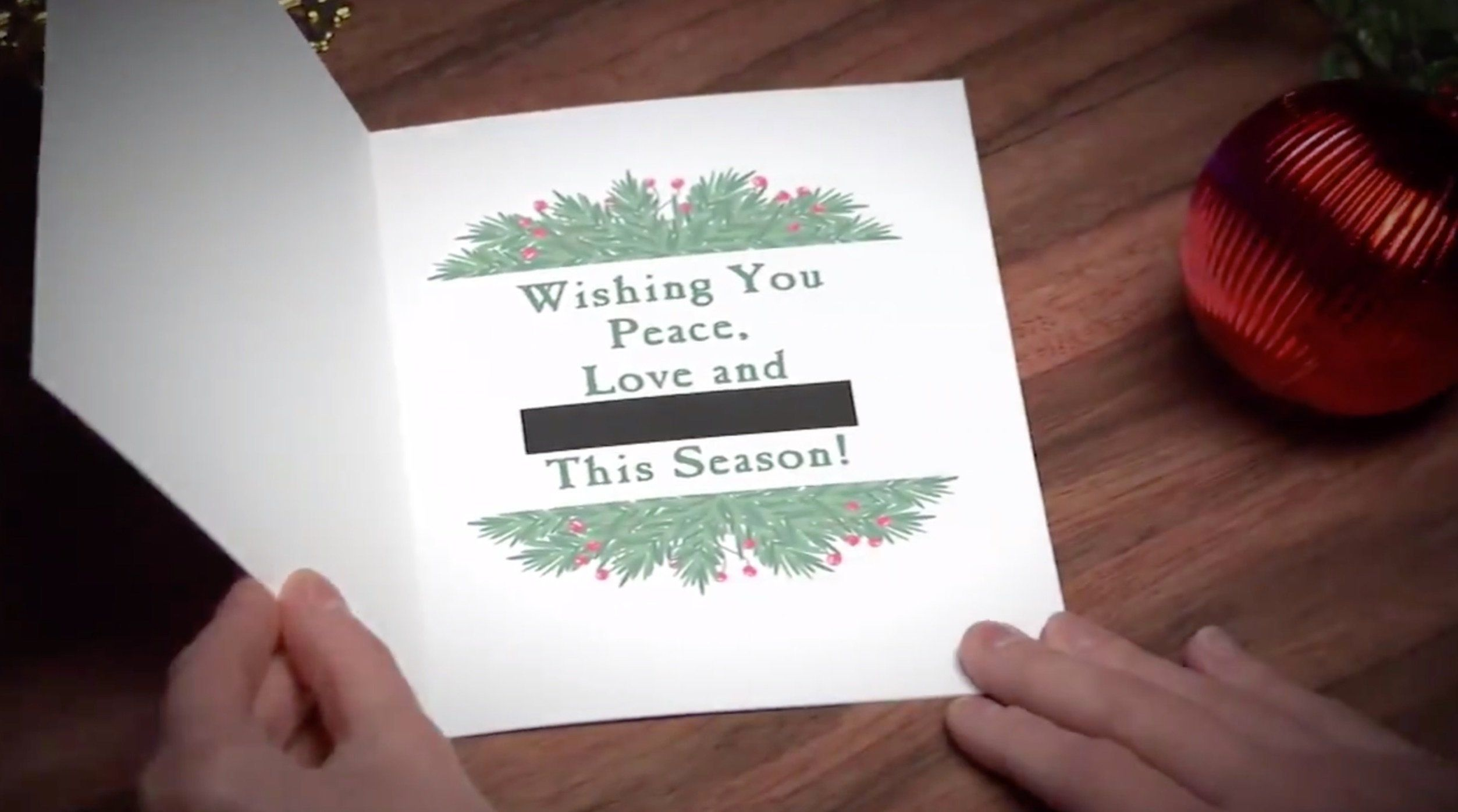 Late Show Christmas Cards