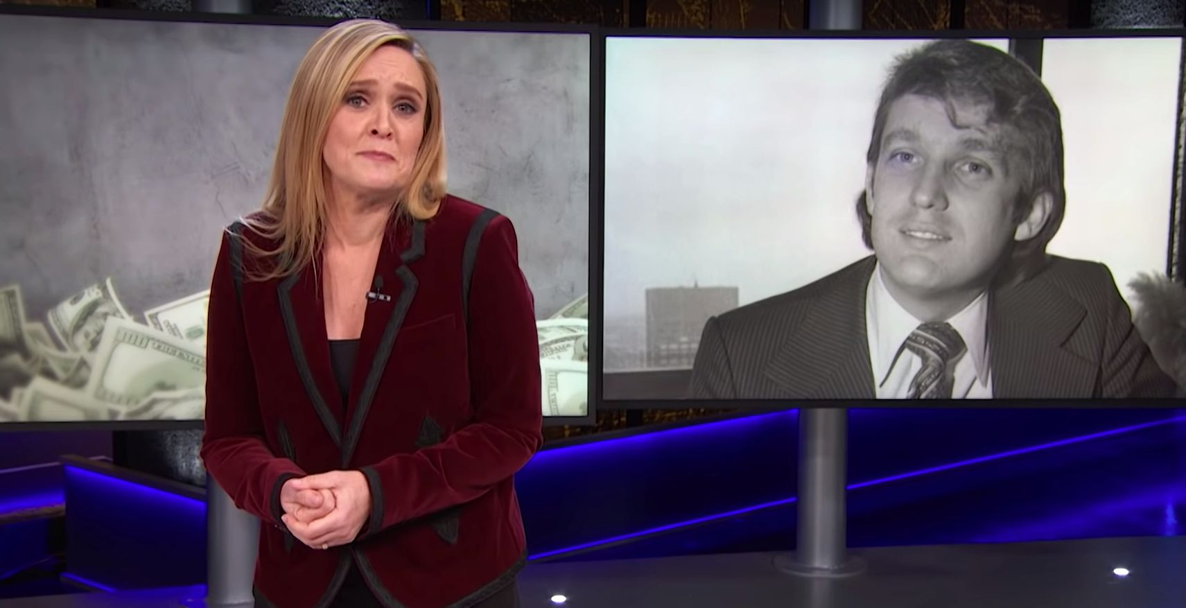 Sam Bee Explains Why Trump Is Best Reason To Take Financial Crimes More