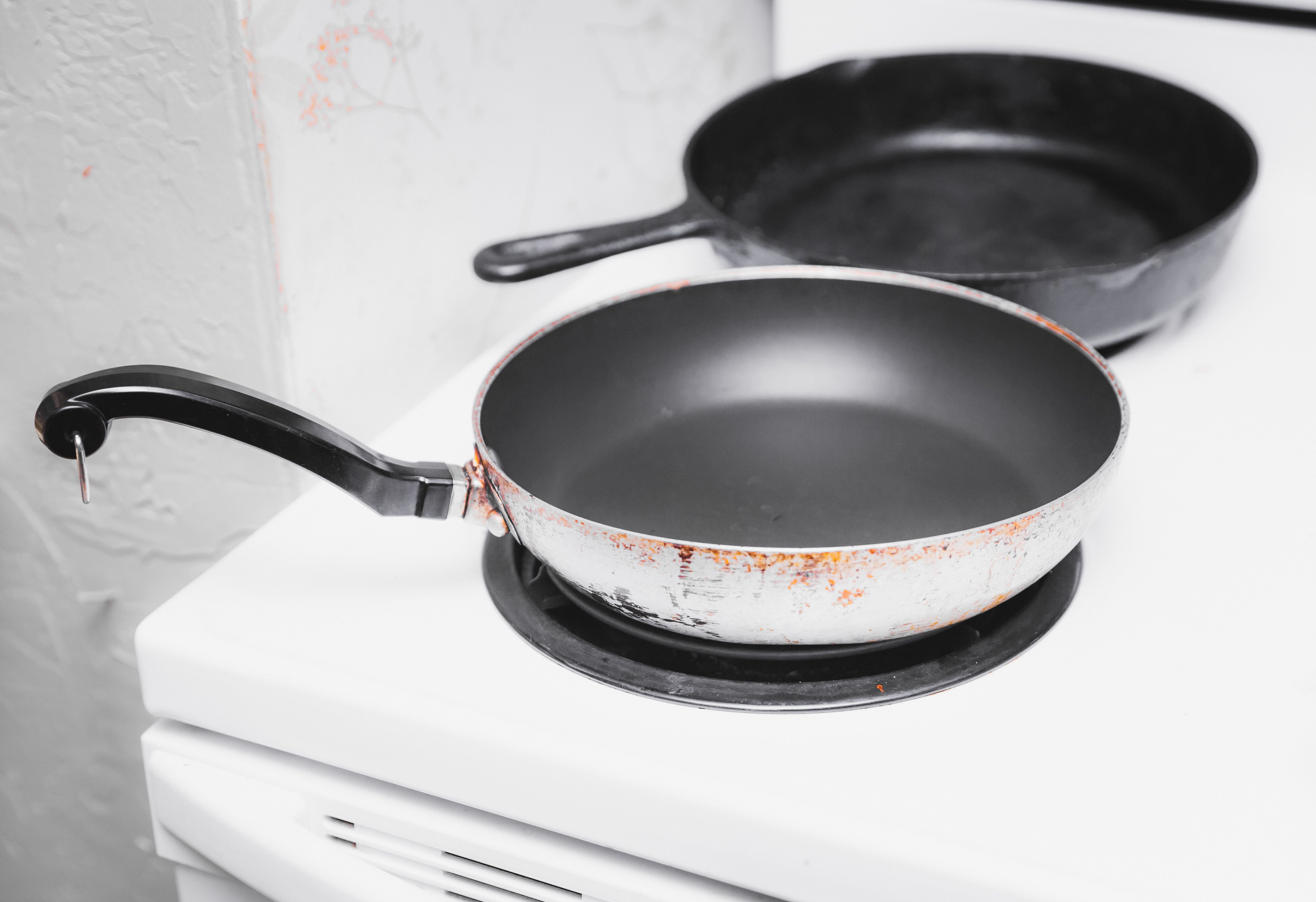 Non-Stick Pan Chemicals Have Been Linked To Smaller Penises And We Have So Many