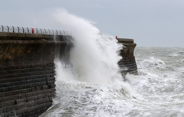 80mph winds are set to batter parts of the
