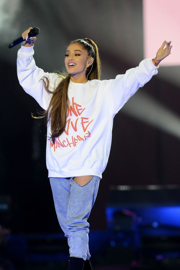 Ariana Grande at the One Love Manchester