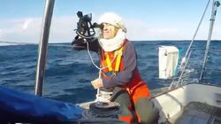 British Sailor Stranded After Severe