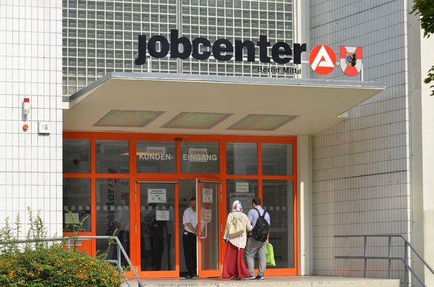 Ein Jobcenter in Berlin-Wedding (Archivbild).
