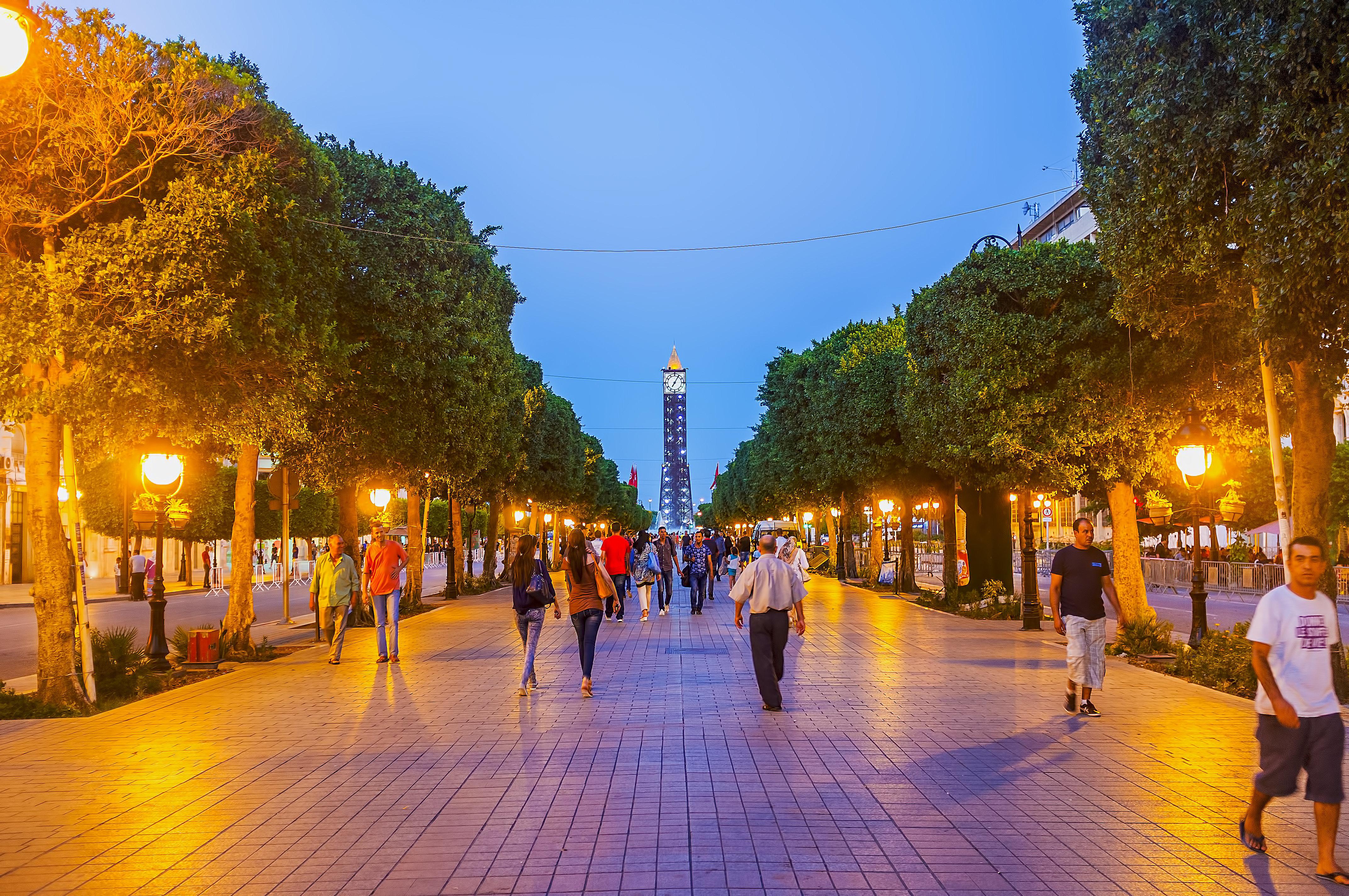 L'avenue Habib Bourguiba sera désormais une avenue piétonne tous les