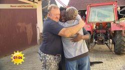 Integration: Bauer trifft auf Flüchtling und zeigt, was Freundschaft