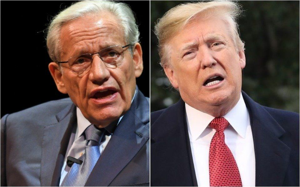 Bob Woodward and Donald Trump