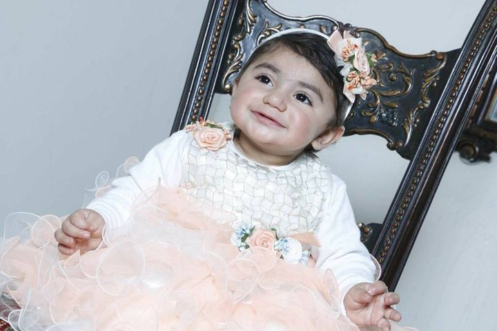 OneBlood launched a world search to find a match for the blood group of Zainab Mughal.