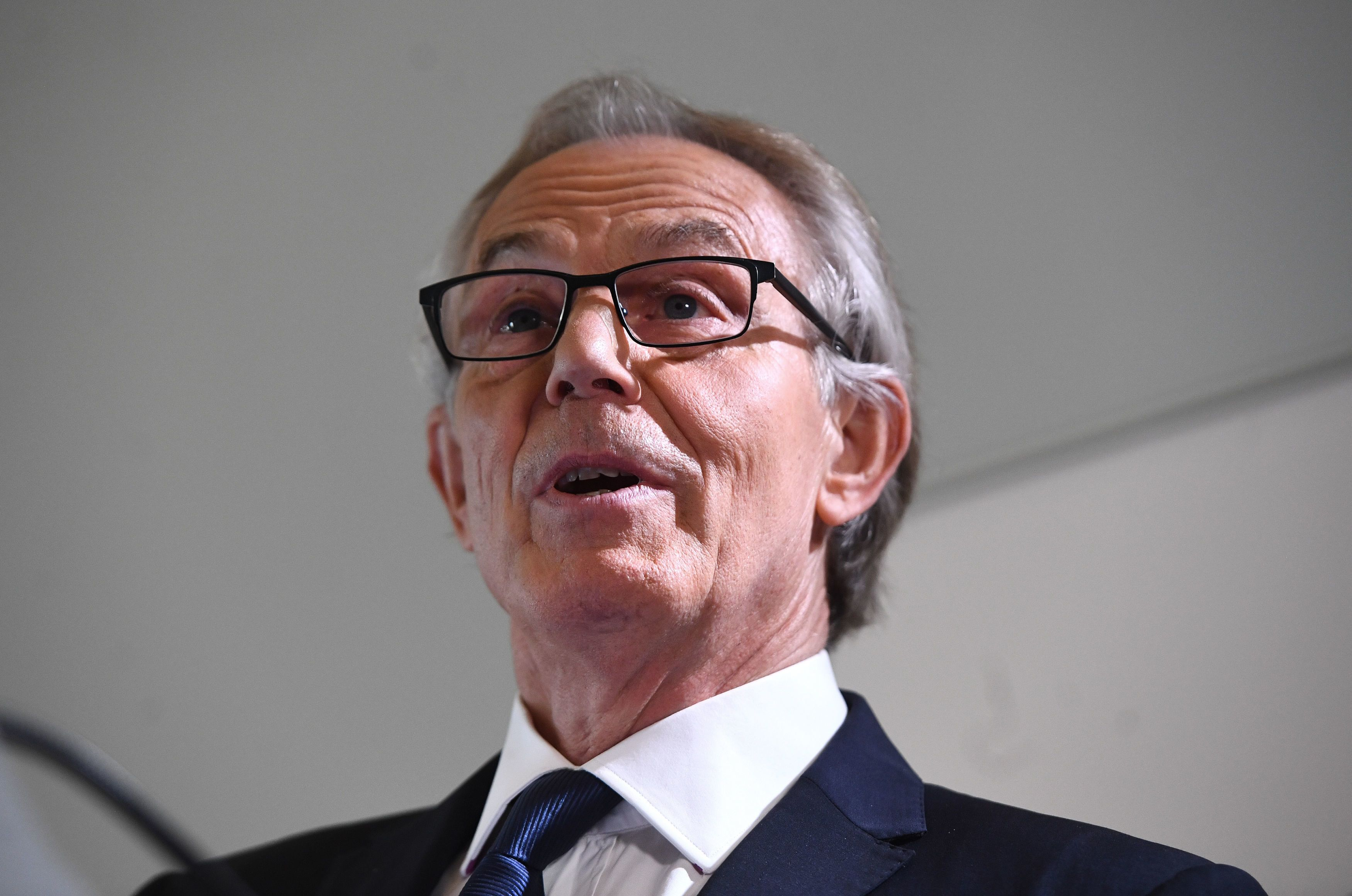 Former Labour prime minister Tony