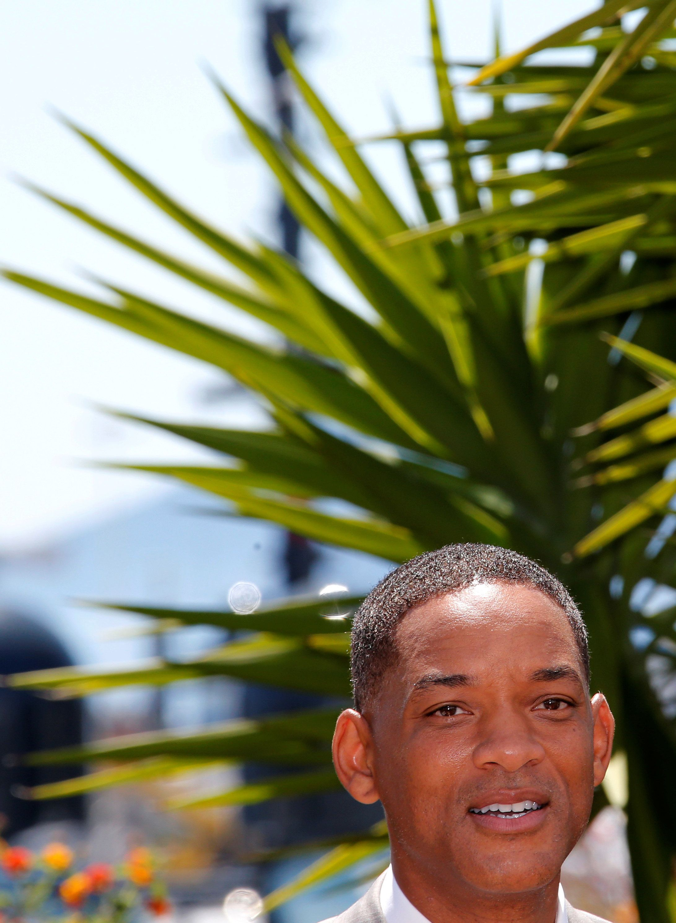 70th Cannes Film Festival - Photocall of the jury - Cannes, France. 17/05/2017. Jury member Will Smith poses.  REUTERS/Jean-Paul Pelissier