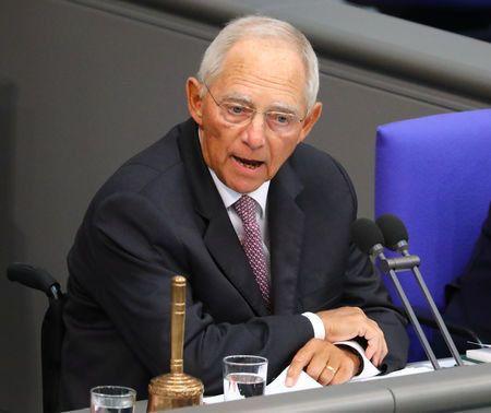 Bundestagspräsident Schäuble wirbt für
