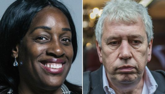 Kate Osamor and Rod