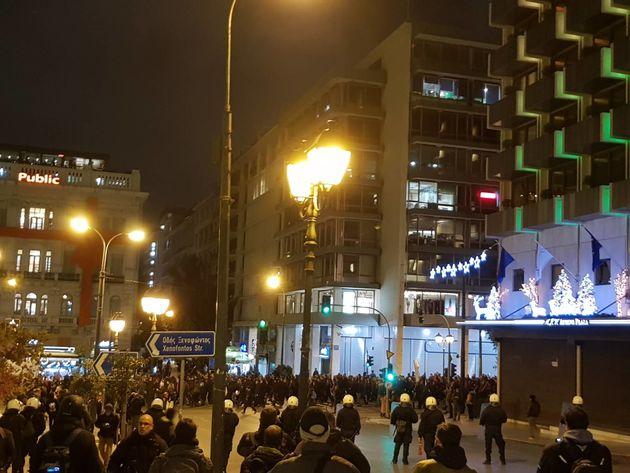 Απογευματινή συγκέντρωση και πορεία για τον Αλ. Γρηγορόπουλο στο κέντρο της