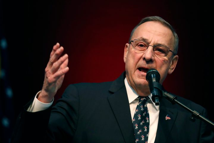 Maine's Republican governor, Paul LePage, blocked voter-approved measures to raise the minimum wage and expand Medicaid.