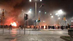 Εκτεταμένα επεισόδια στη Θεσσαλονίκη μετά την πορεία για τον Αλ.