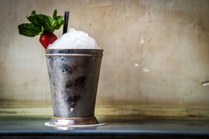 The Julep at Maison Premiere in Brooklyn.