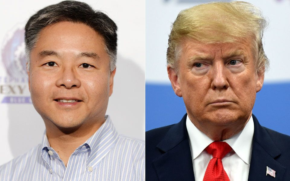 "Rep. Ted Lieu (D-Calif.) says it's ""too late"" for Donald Trump to shut down investigations into his 2016 campaign's possible"