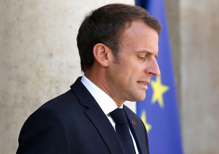 French PresidentEmmanuel Macron.