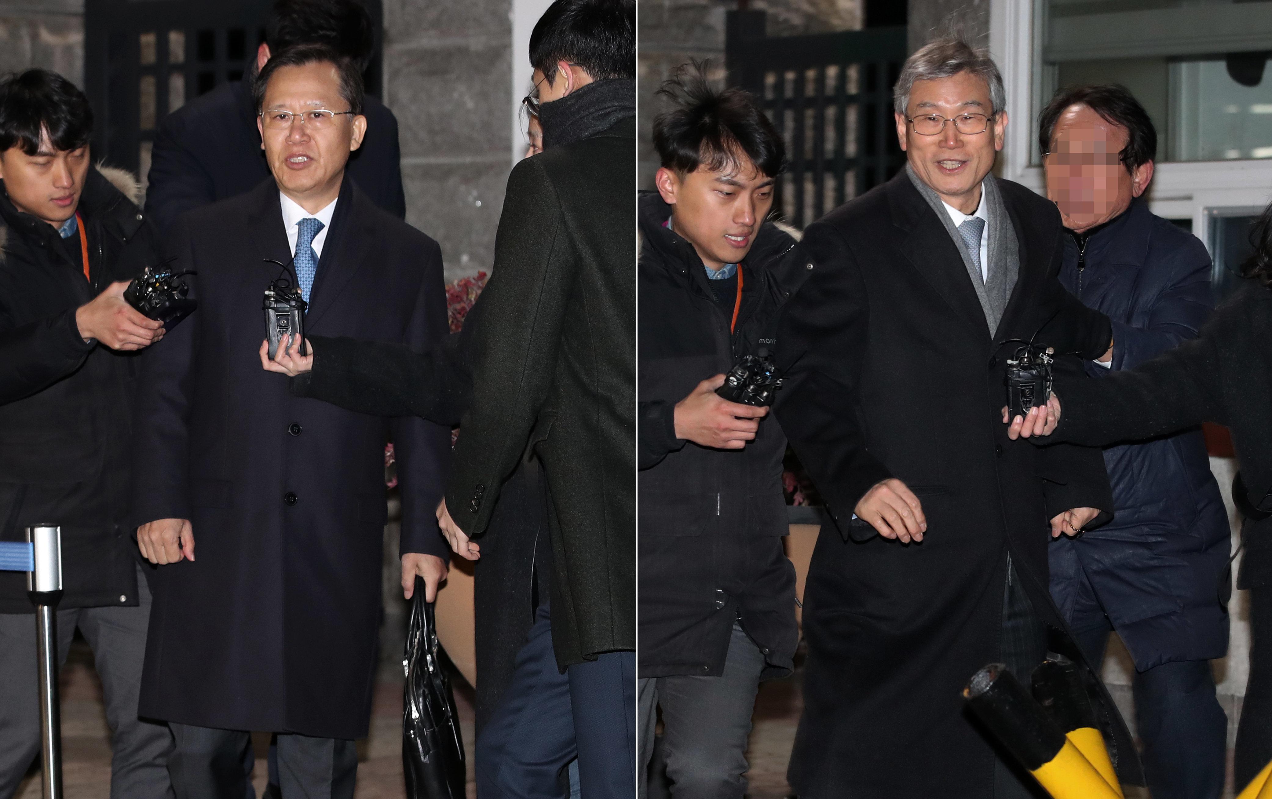'사법농단' 혐의 박병대·고영한 전 대법관 구속영장이 모두