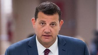 UNITED STATES - SEPTEMBER 26: Rep. David Valadao, R-Calif., arrives for the House Republican Conference meeting on Wednesday, Sept. 26, 2018. (Photo By Bill Clark/CQ Roll Call)