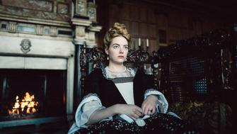 Emma Stone in the film THE FAVOURITE. Photo by Yorgos Lanthimos.© 2018 Twentieth Century Fox Film Corporation All Rights Reserved