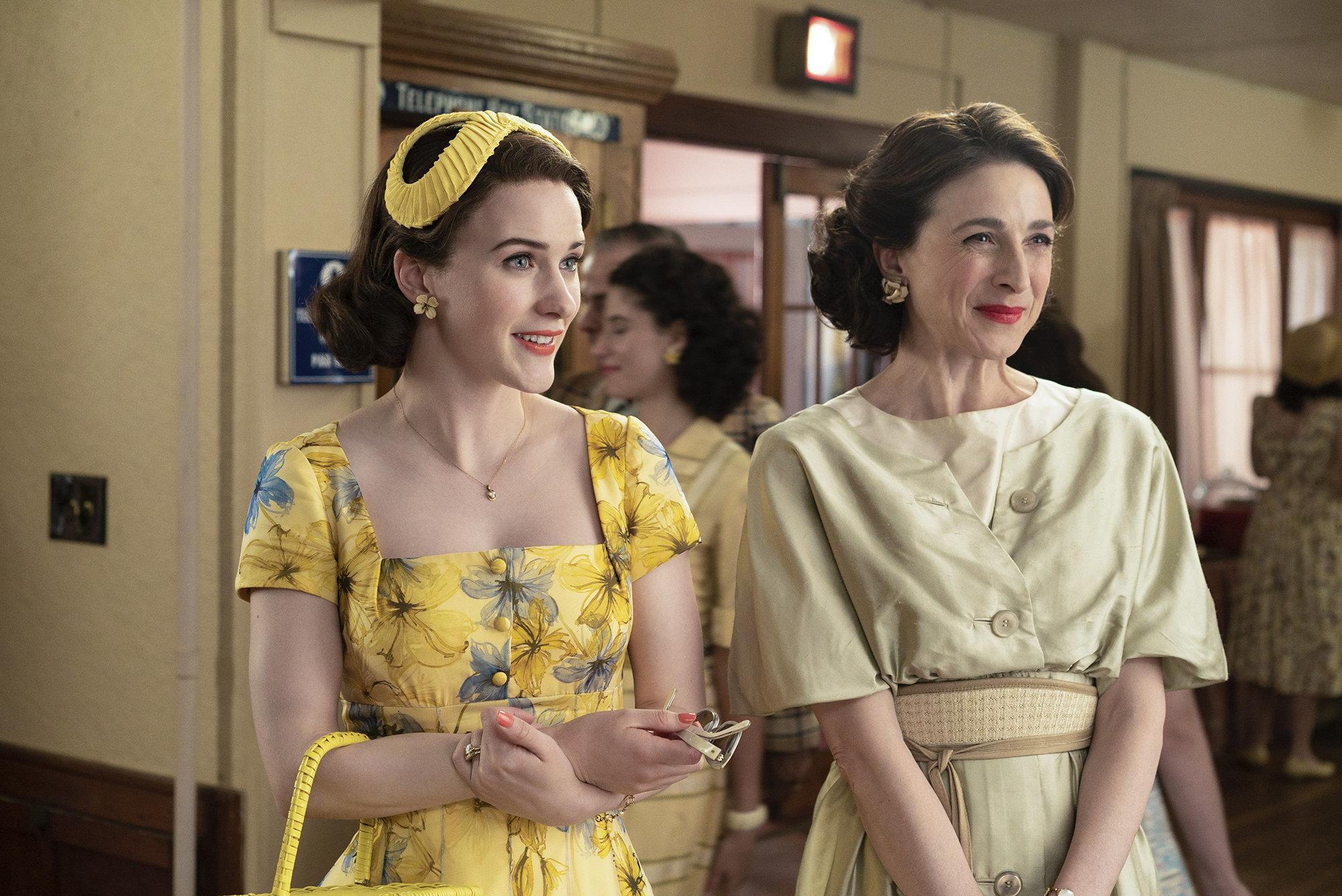"""The Marvelous Mrs. Maisel"" on Amazon Prime."