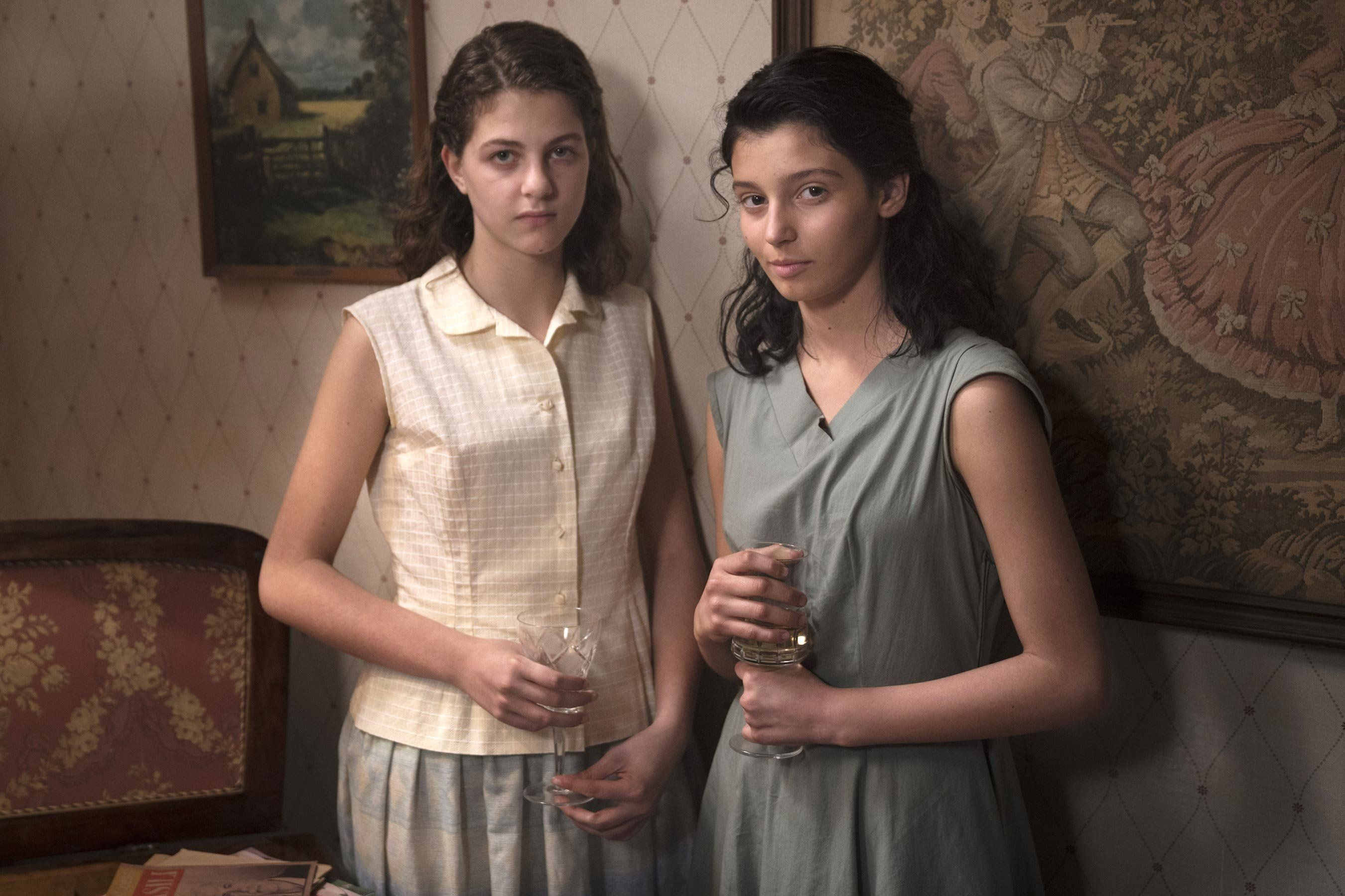 """My Brilliant Friend"" on HBO."