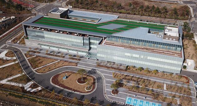 제주 서귀포시 헬스케어타운 내 녹지국제병원의