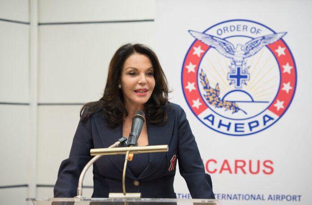 Ομιλία της Κατερίνας Παναγοπούλου για τον Ελληνισμό της Διασποράς στον 21ο