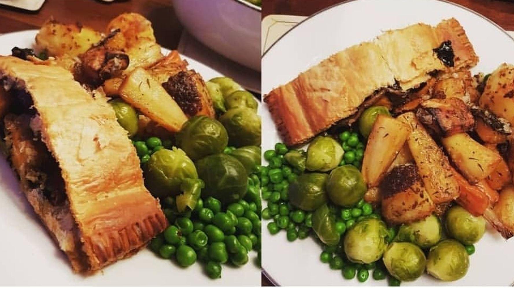 Christmas Meals.Vegan Christmas Dinner Three Households Share What Festive