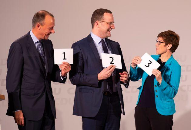 Το CDU ψηφίζει: Μετά τη Μέρκελ ποιός ή ποιά; - Δημοσκόπηση