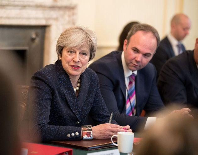 Theresa May and chief of staff Gavin