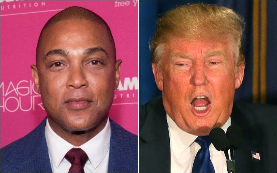 Don Lemon and Donald Trump