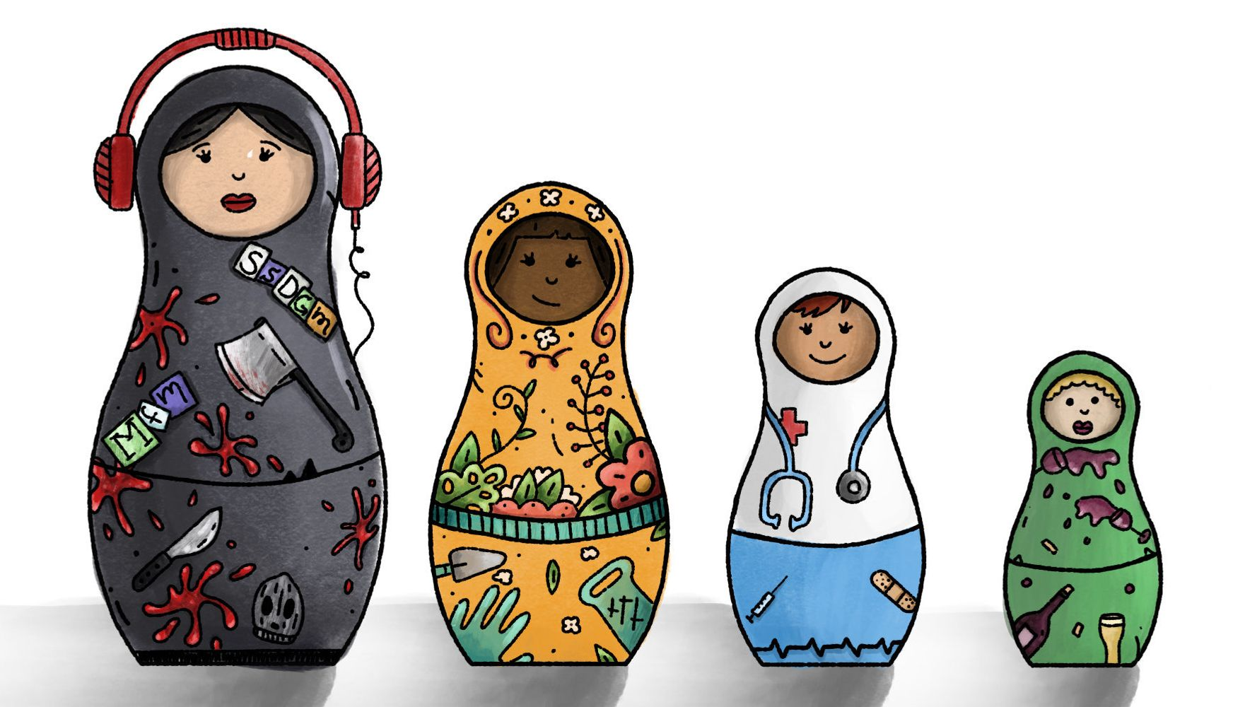 Inside The Nesting Doll Fandom Of 'My Favorite Murder